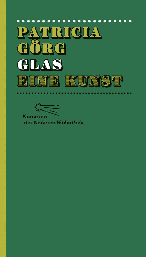 Glas eine Kunst als Buch (gebunden)
