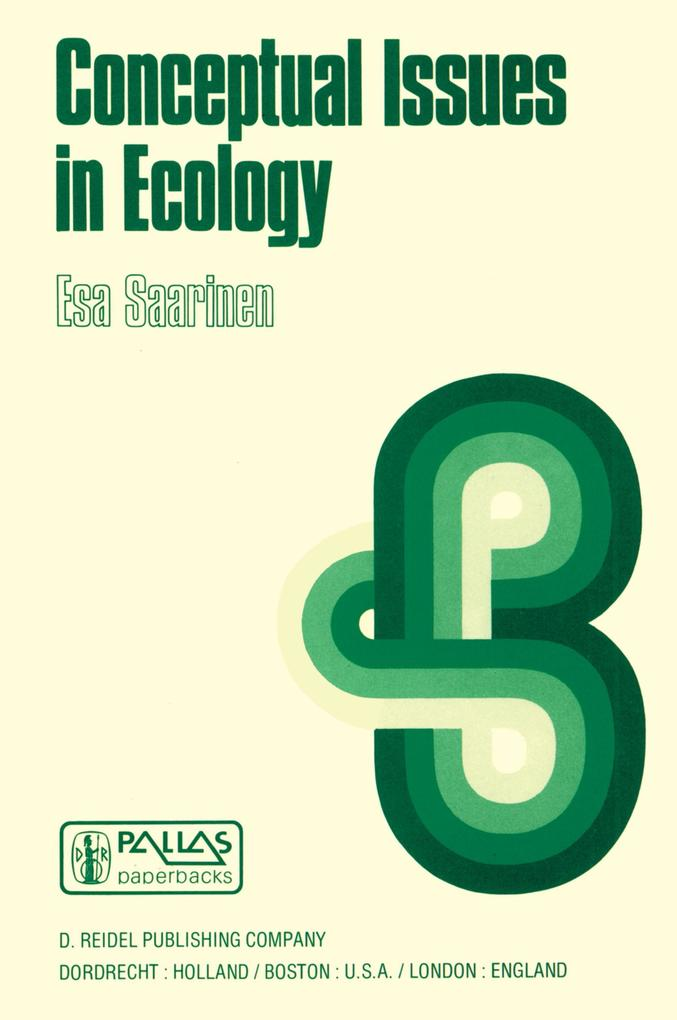 Conceptual Issues in Ecology als Buch