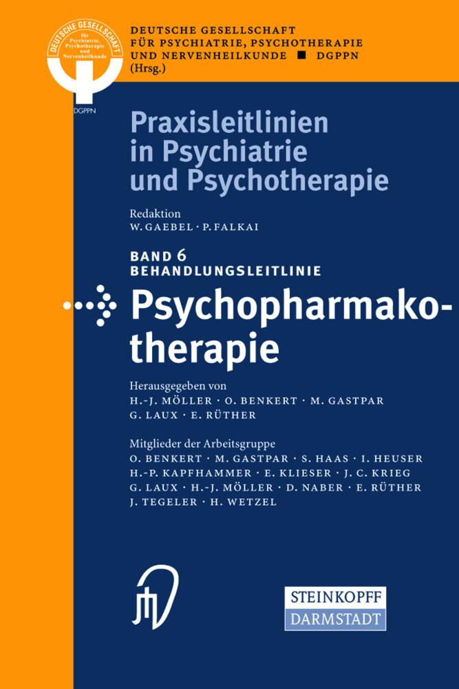 Behandlungsleitlinie Psychopharmakotherapie als Buch