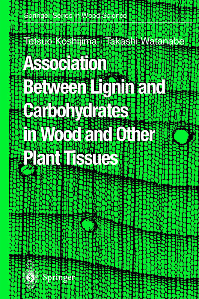 Association Between Lignin and Carbohydrates in Wood and Other Plant Tissues als Buch