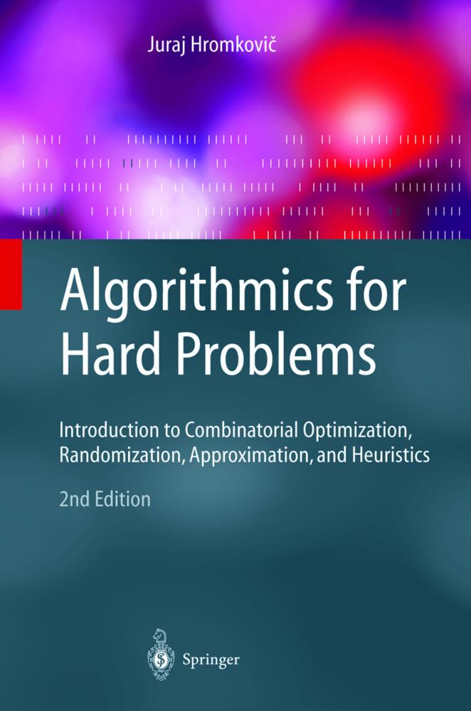 Algorithmics for Hard Problems als Buch