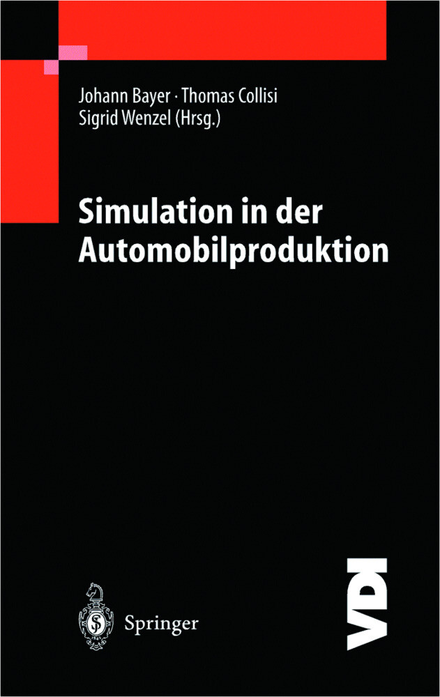 Simulation in der Automobilproduktion als Buch