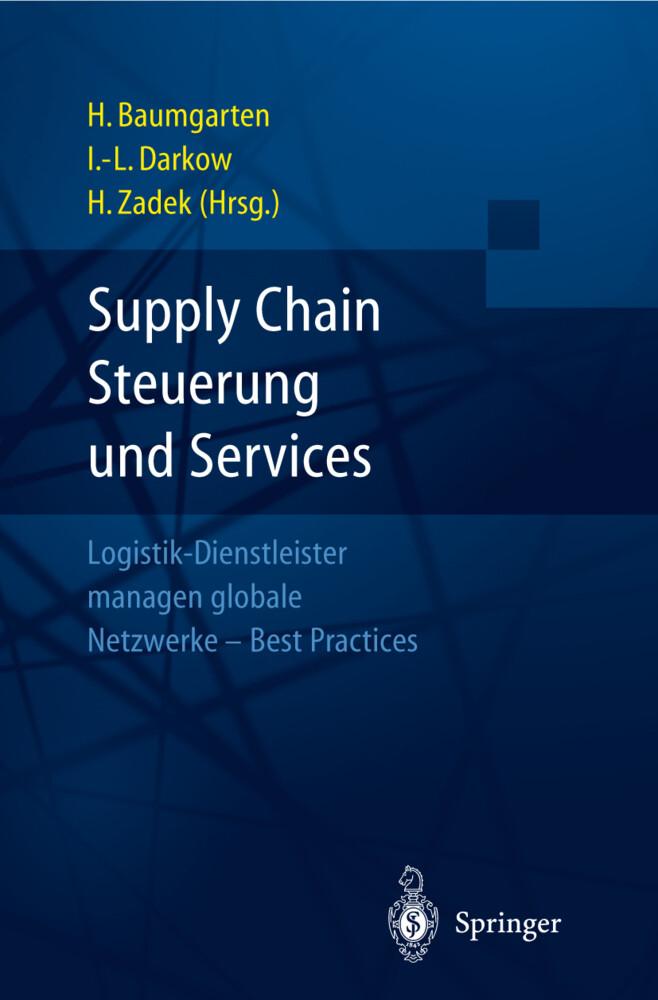 Supply Chain Steuerung und Services als Buch