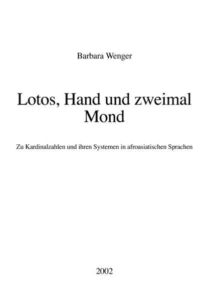 Lotos, Hand und zweimal Mond als Buch