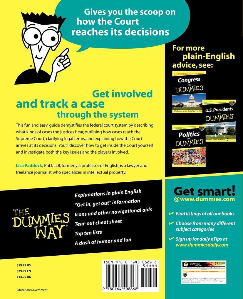 Supreme Court for Dummies als Taschenbuch