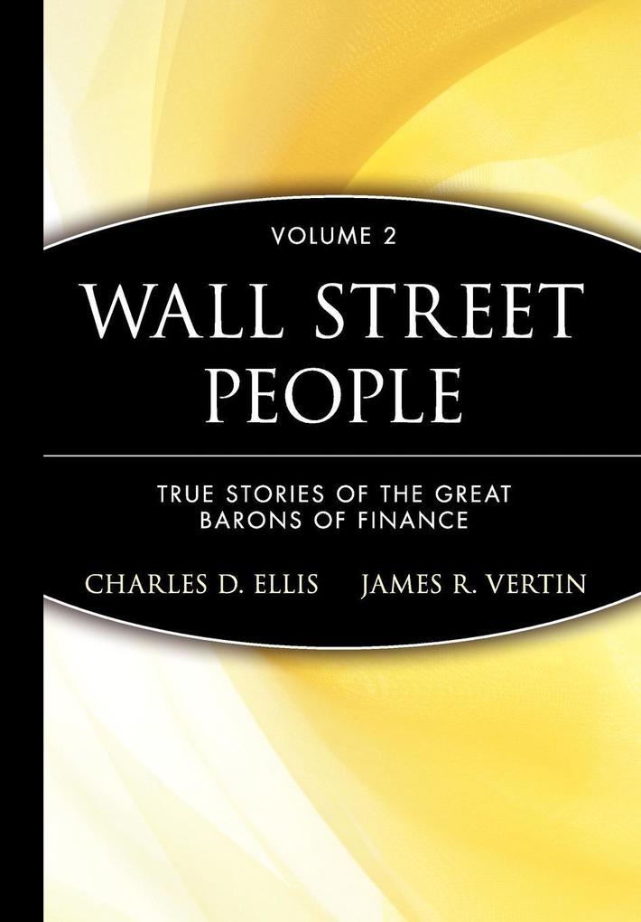 Wall Street People 2 als Buch