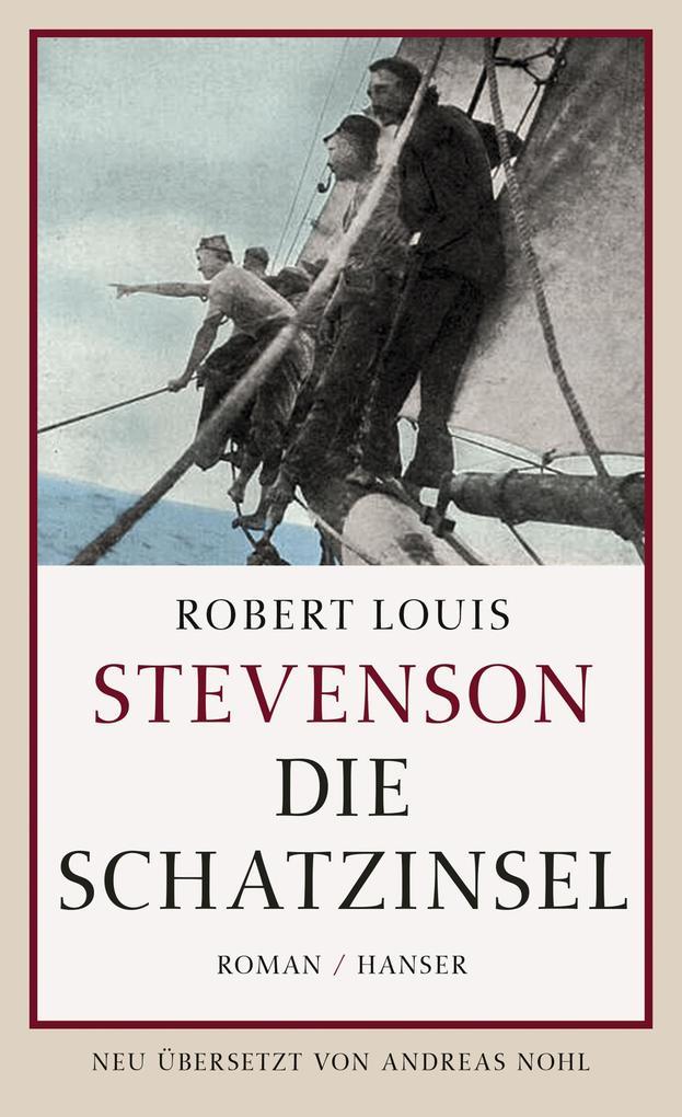 Die Schatzinsel als Buch von Robert Louis Stevenson