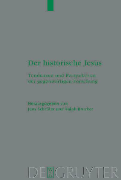 Der historische Jesus als Buch
