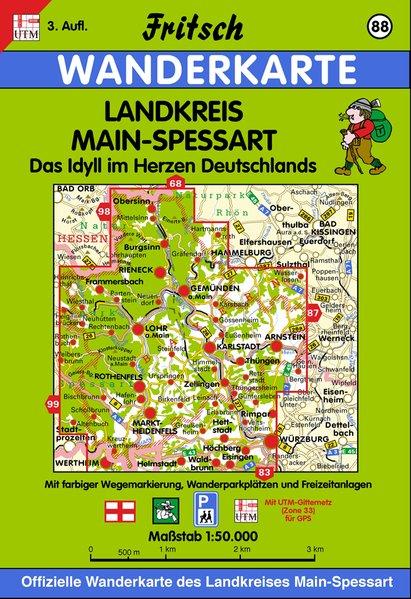 Landkreis Main-Spessart 1 : 50 000 als Buch