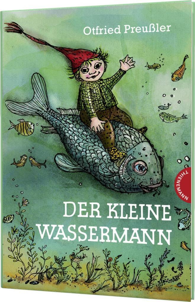 Der kleine Wassermann, kolorierte Ausgabe als Buch von Otfried Preußler