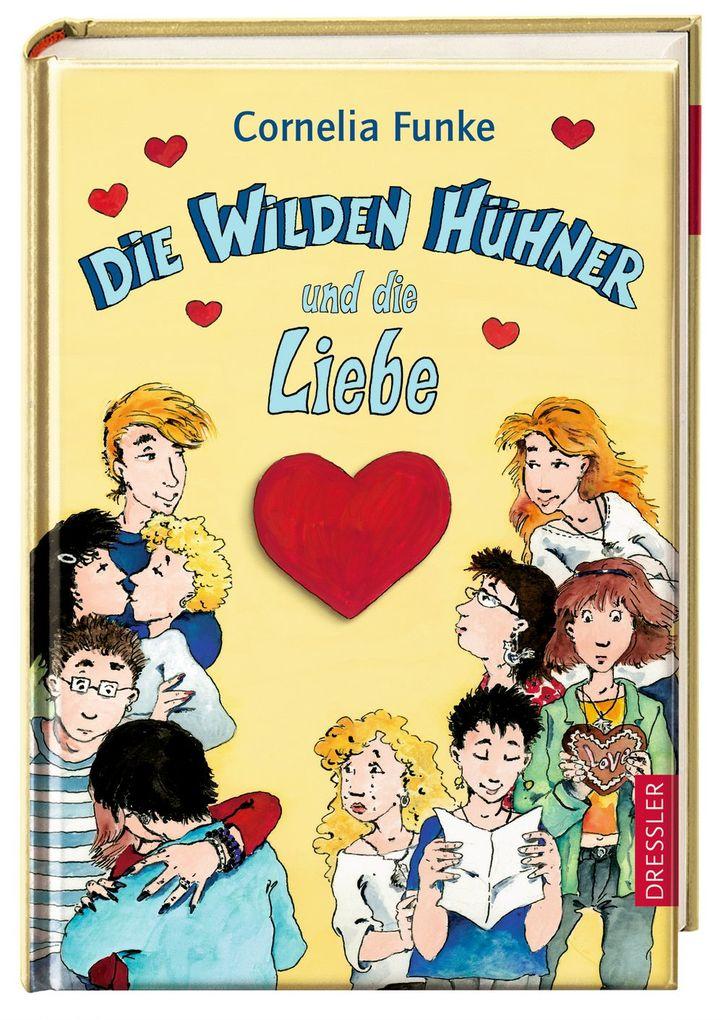 Die Wilden Hühner und die Liebe als Buch