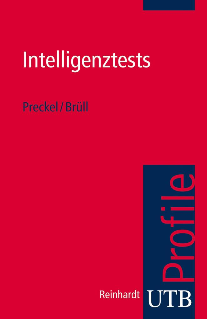 Intelligenztests als eBook