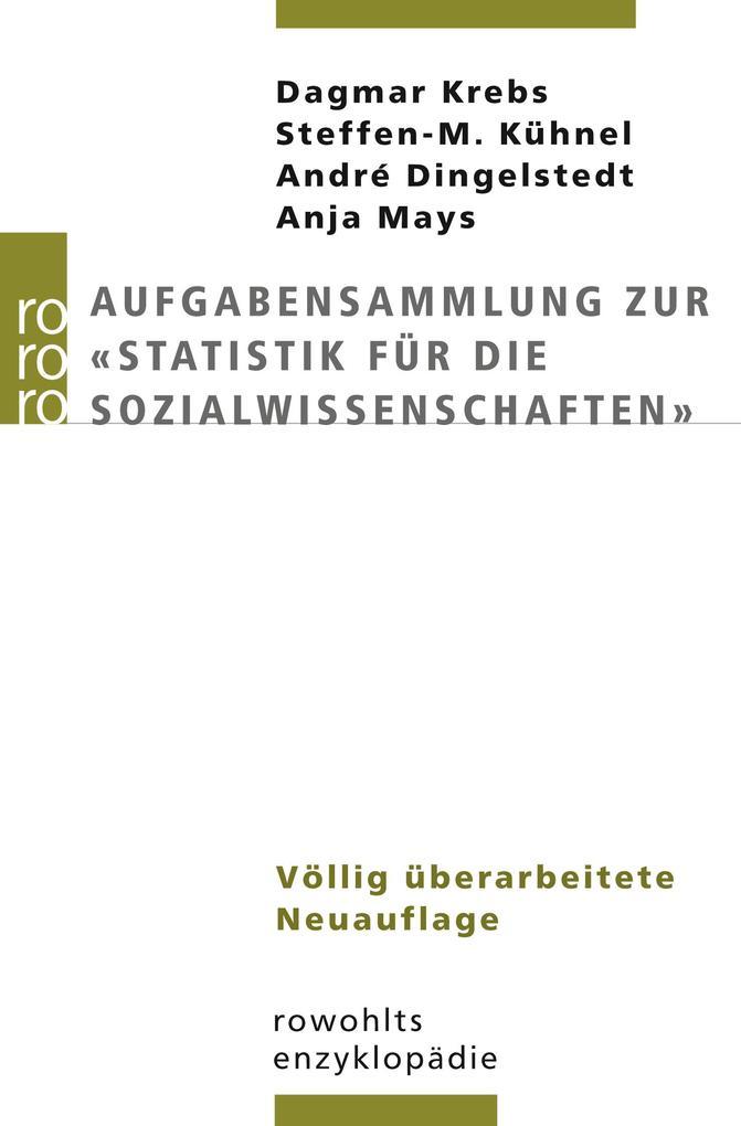 """Aufgabensammlung zur """"Statistik für die Sozialwissenschaften"""" als Taschenbuch"""