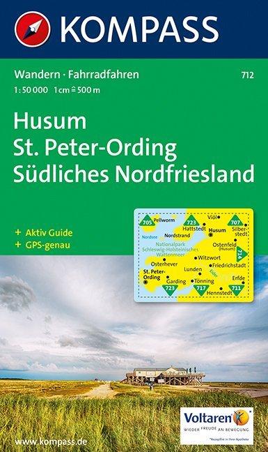 Husum / Sankt Peter-Ording / Südliches Nordfriesland 1 : 50 000 als Buch