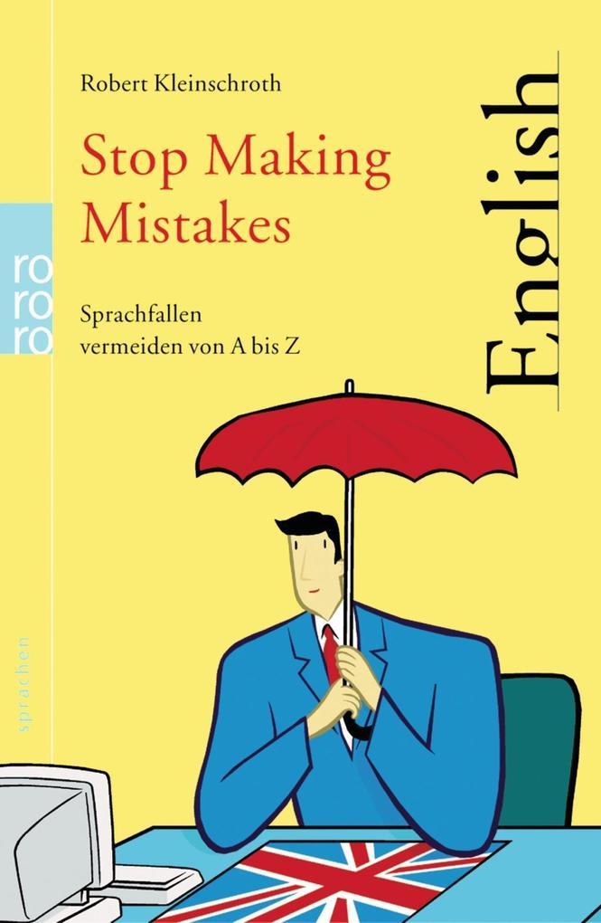 Stop Making Mistakes als Taschenbuch