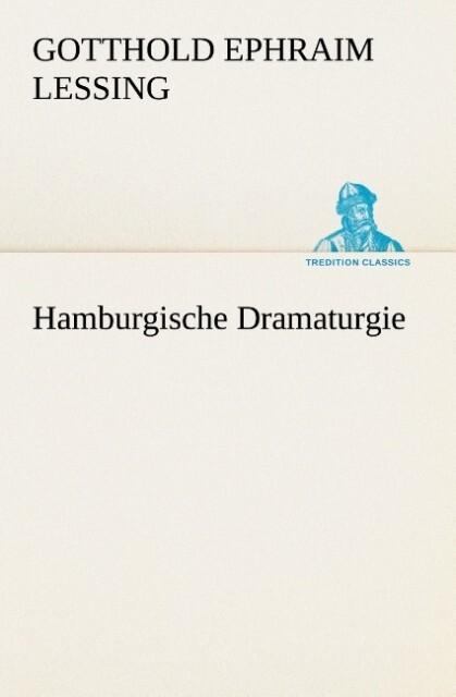 Hamburgische Dramaturgie als Buch