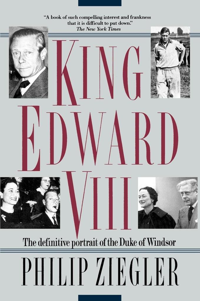 King Edward VIII als Taschenbuch