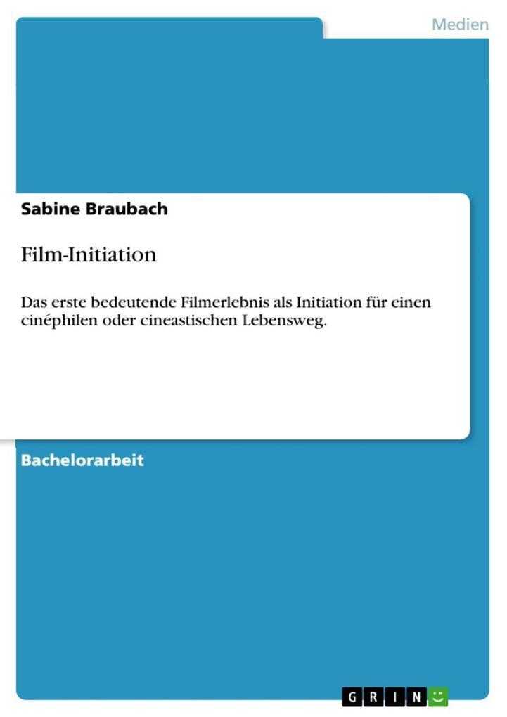 Film-Initiation