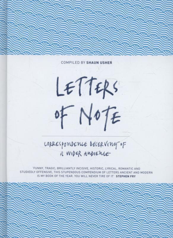 Letters of Note als Buch von