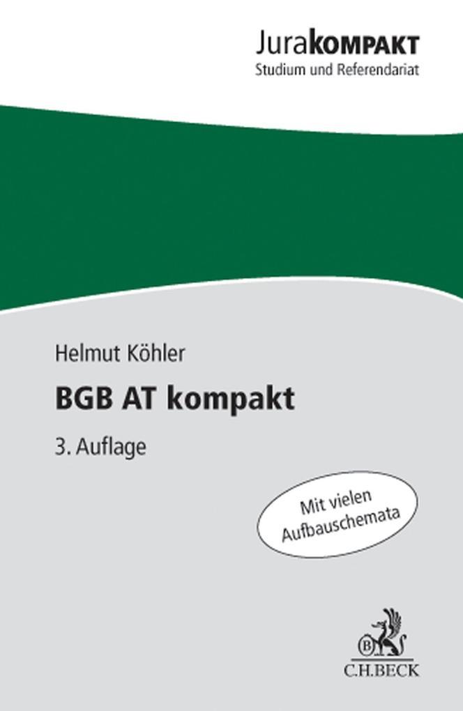 BGB AT kompakt als eBook