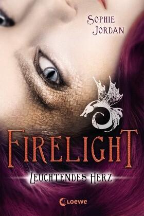 Firelight 03. Leuchtendes Herz als Buch von Sophie Jordan