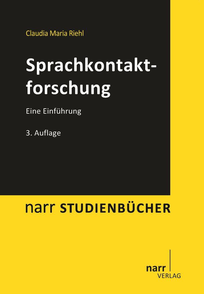 Sprachkontaktforschung als eBook