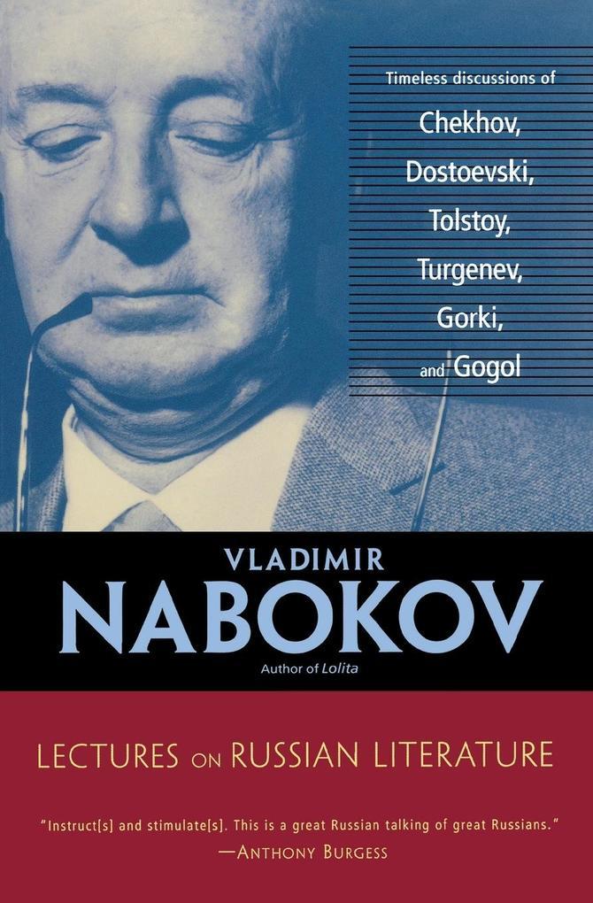 Lectures on Russian Literature als Taschenbuch