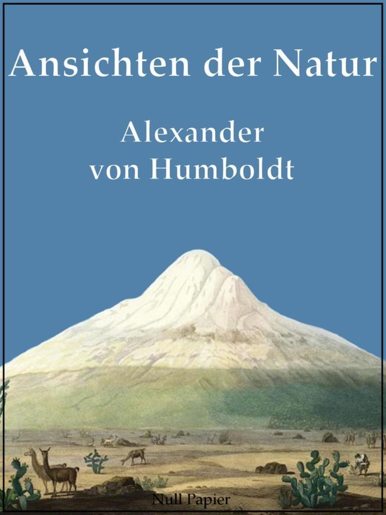 Ansichten der Natur als eBook
