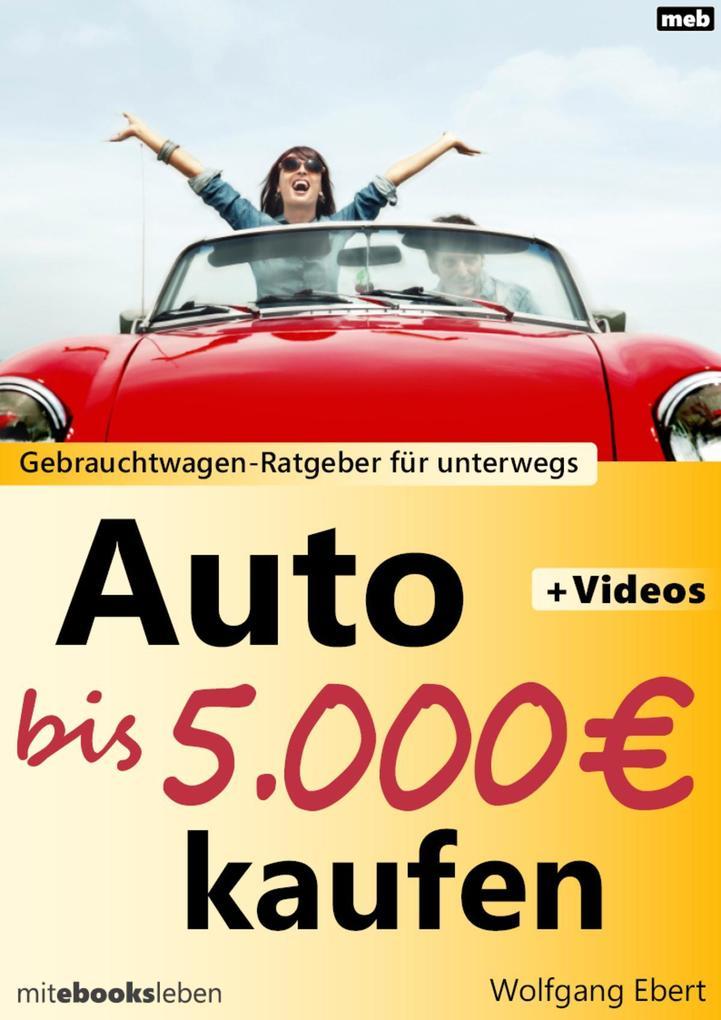 Auto bis 5.000 Euro kaufen als eBook