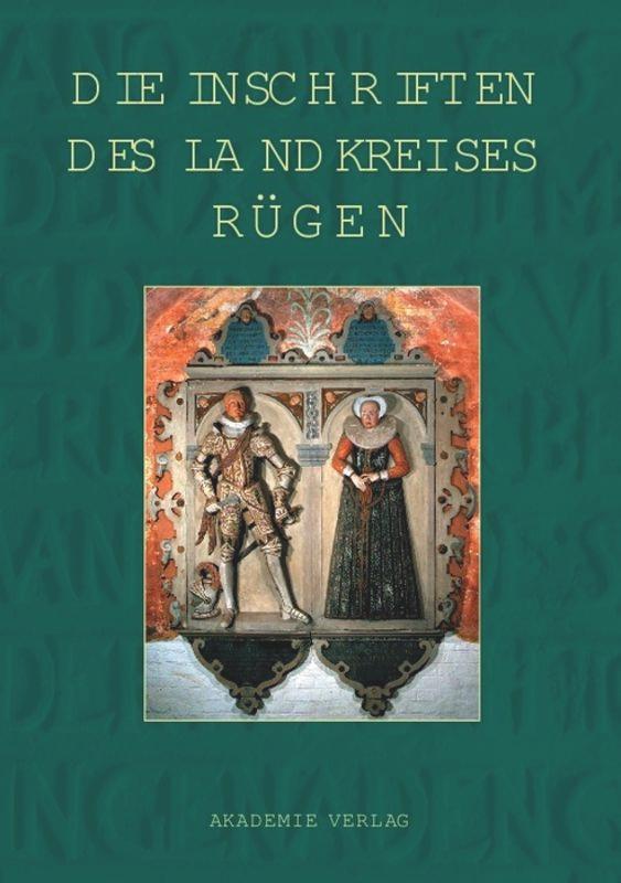 Die Inschriften des Landkreises Rügen als Buch