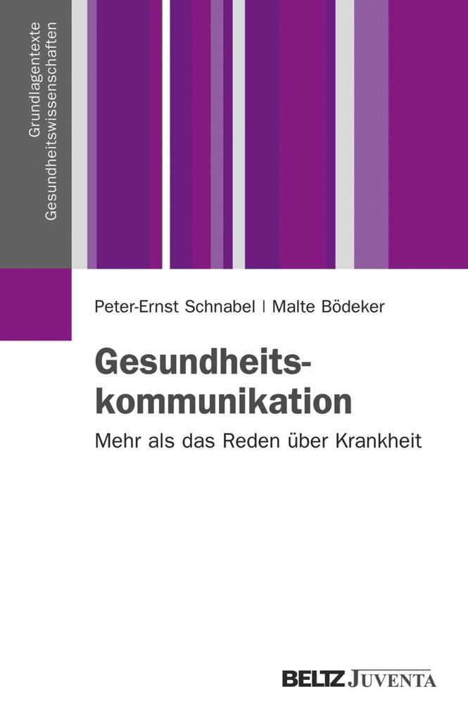 Gesundheitskommunikation als eBook pdf