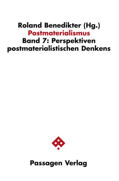 Perspektiven des postmaterialistischen Denken als Buch