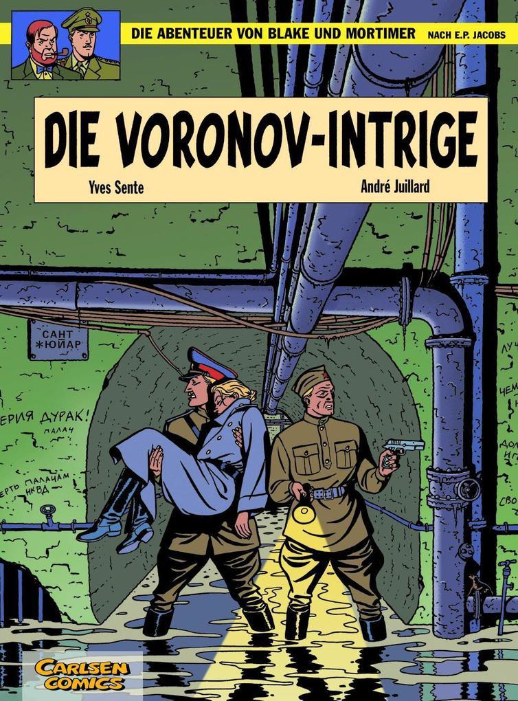 Die Abenteuer von Blake und Mortimer 11. Die Voronov-Intrige als Buch