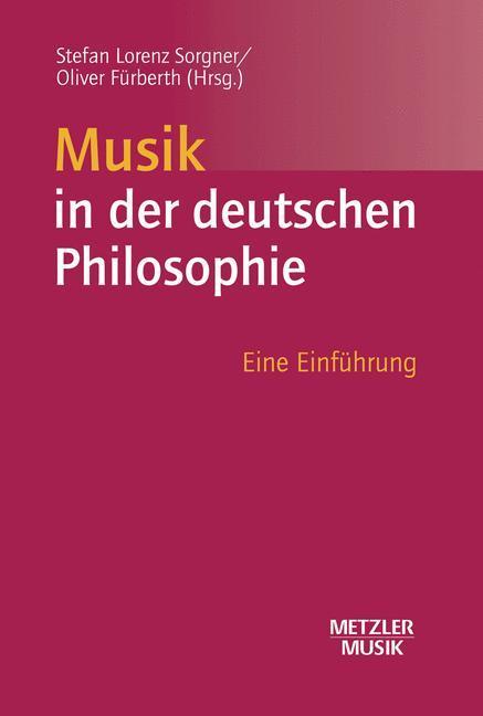 Musik in der deutschen Philosophie als Buch