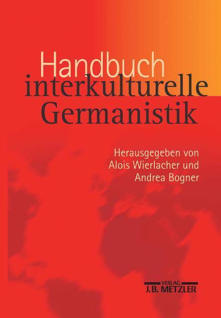 Handbuch interkulturelle Germanistik als Buch