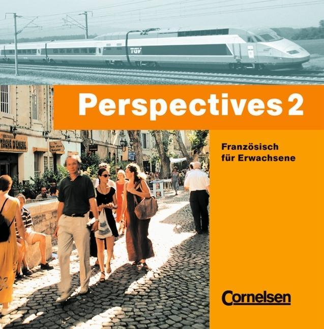 Perspectives 2. Französisch für Erwachsene. CD als Hörbuch