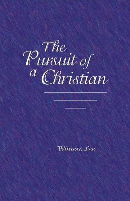 The Pursuit of a Christian als Taschenbuch