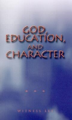 God, Education, and Character als Taschenbuch