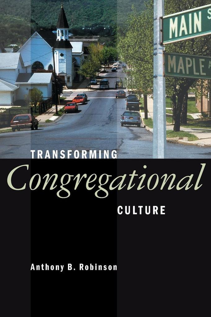 Transforming Congregational Culture als Taschenbuch