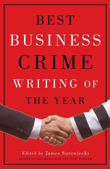 Best Business Crime Writing of the Year als Taschenbuch
