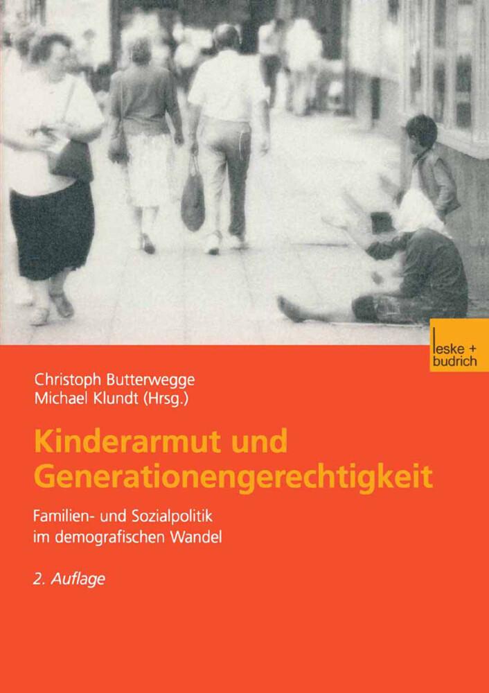 Kinderarmut und Generationengerechtigkeit als Buch