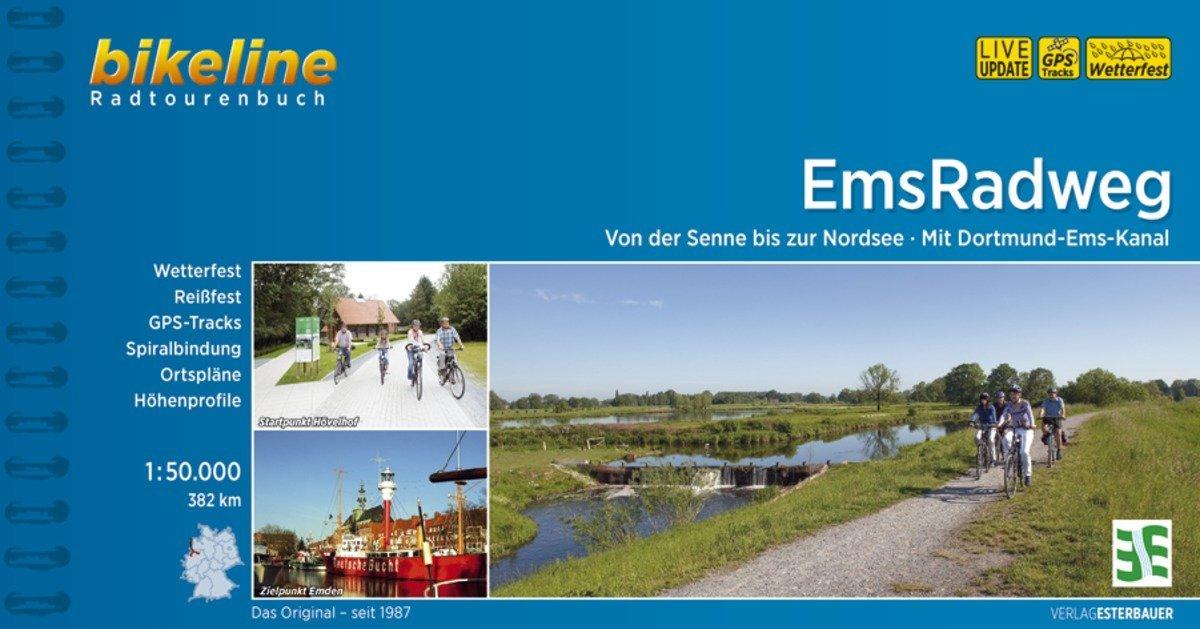 Bikeline Radtourenbuch Ems-Radweg als Buch