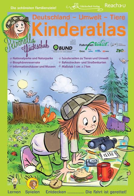 Petronella Glückschuh: Deutschland - Umwelt - Tiere - Kinderatlas als Buch
