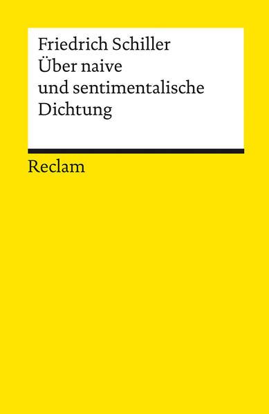 Über naive und sentimentalische Dichtung als Taschenbuch