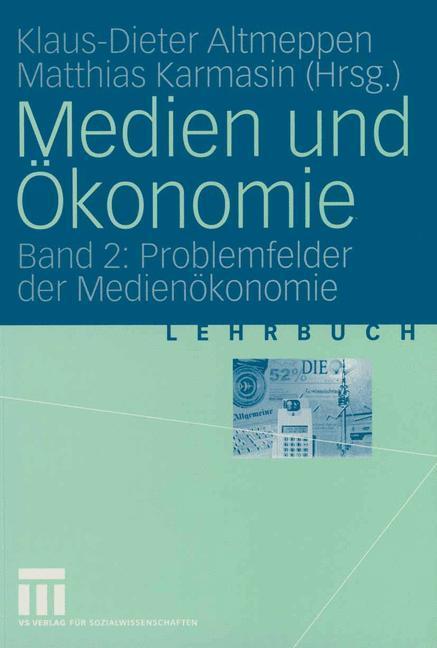 Medien und Ökonomie als Buch