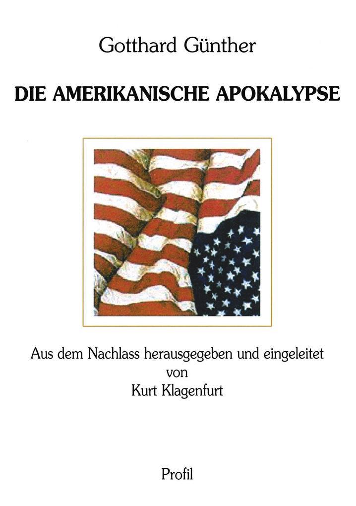 Die Amerikanische Apokalypse als Buch