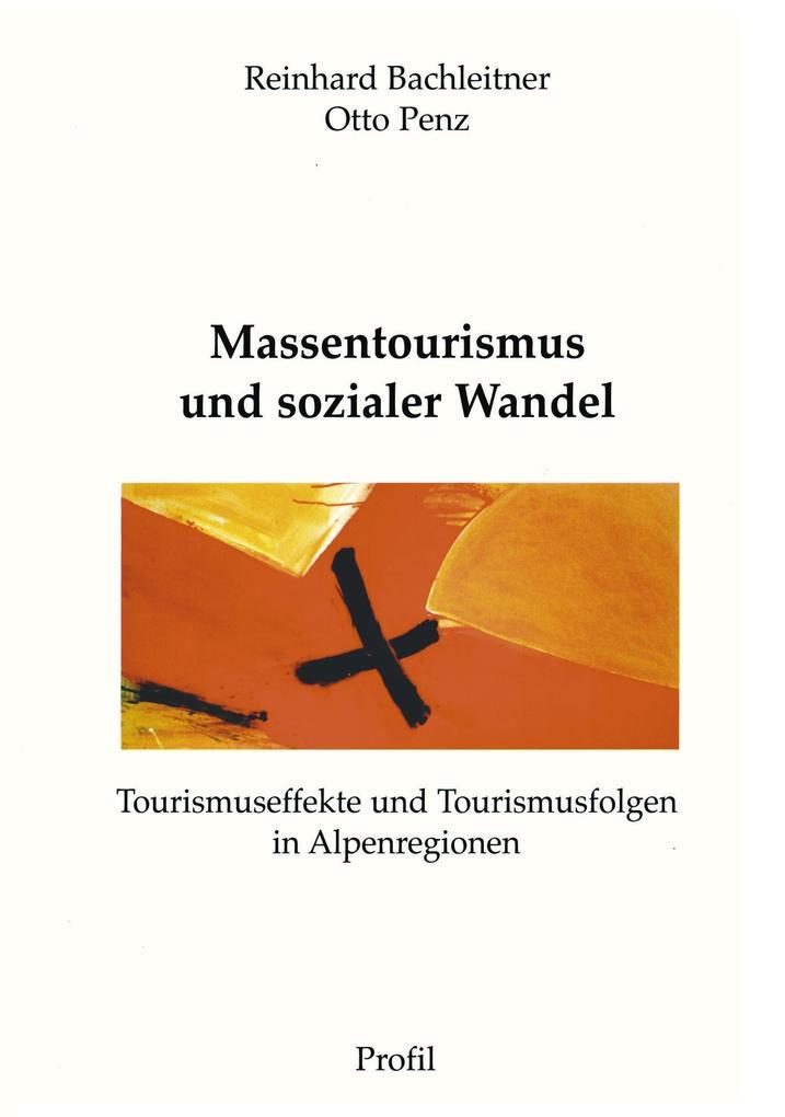Massentourismus und sozialer Wandel als Buch