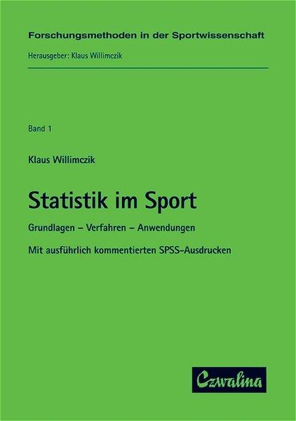 Statistik im Sport als Buch