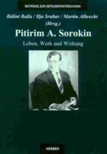 Pitirim A. Sorokin als Buch