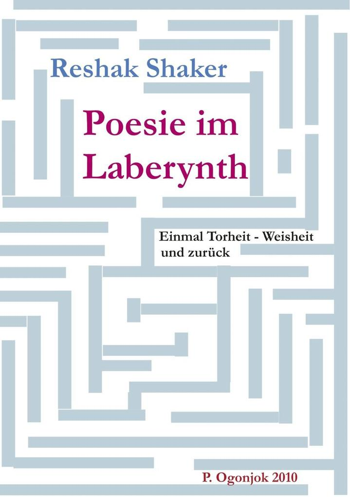 Poesie im Laberynth als eBook